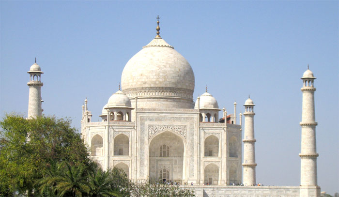 Taj Mahal Night View