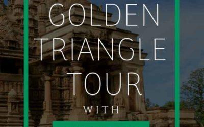The Golden Triangle Tour with Khajuraho and Varanasi