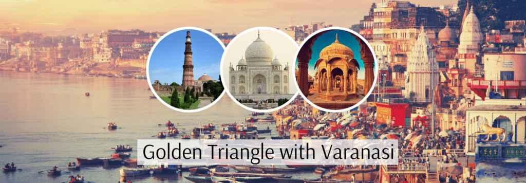 golden traingle tour with varanasi